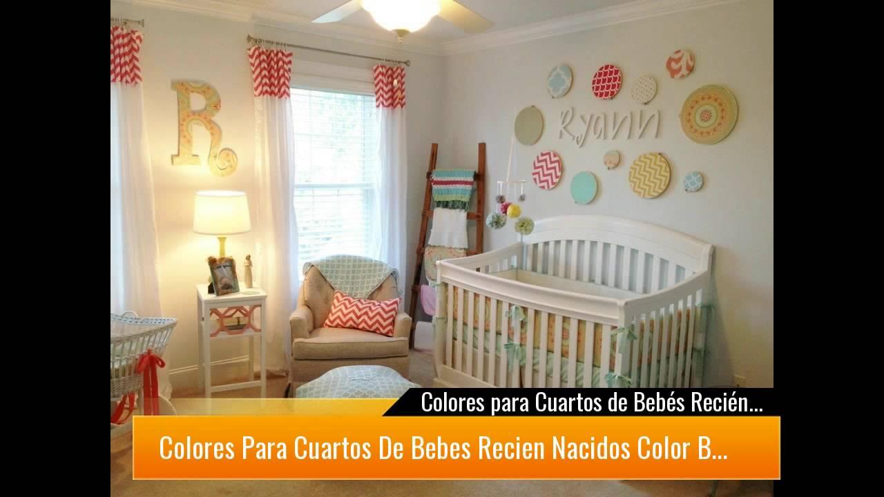 Colores para Cuartos de Bebés Recién Nacidos 2019 ...