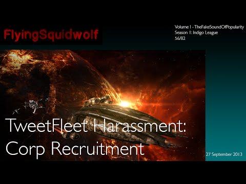 TweetFleet Harassment:  Corp Recruitment