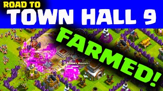 Clash of Clans Farming Highs and Lows - Road to Town Hall 9 (and 10)?