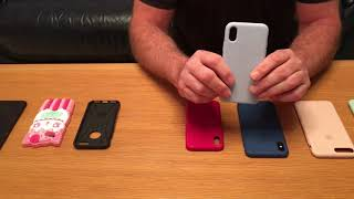 Apple I phone review cases, screen covers, genuine apple and fake