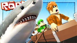 Der GIANT SHARK BROKE ALL-Roblox