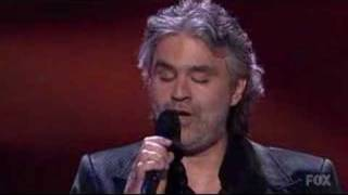 Andrea Bocelli 34 Because We Believe 34 Live On American Idol