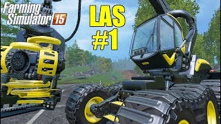 Ścinanie drzew - Leśnictwo w Farming Simulator 15 #1 [PORADNIK], FS15 gameplay pl