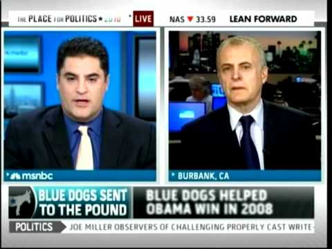 Blue Dog Democrats In Trouble? - MSNBC w/ Cenk