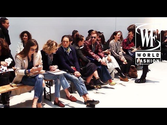 Front Row Tsumori Chisato Fall-Winter 15-16 Paris Fashion Week