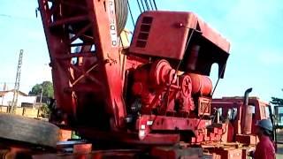 redutor do rodo ferroviario trabalhando,esse rodo e de 1978,32 anos de uso!