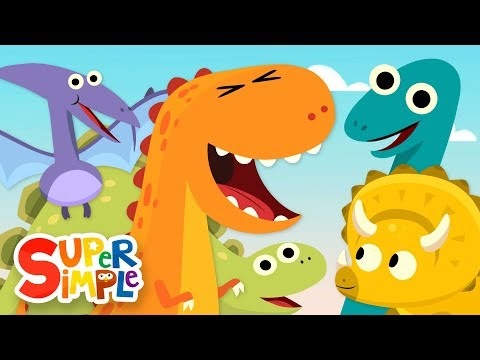 Thumbnail: 10 Little Dinosaurs | Kids Songs | Super Simple Songs