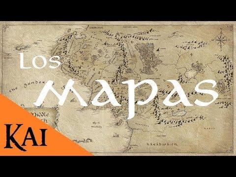 Los Mapas De Arda Y La Tierra Media Youtube