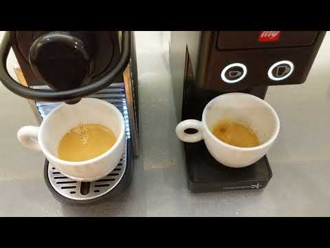 Illy versus Nespresso