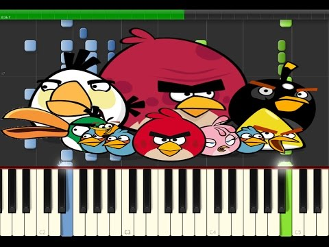 Angry Birds - Theme Song (Piano)