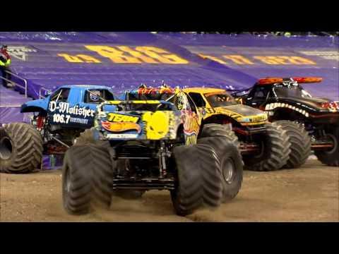 Monster Jam In Ford Field - Detroit, MI 2014 - Full Show - Episode 12