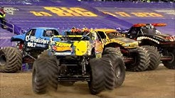 Monster Jam in Ford Field - Detroit, MI 2014 - Full Show - Episode 12