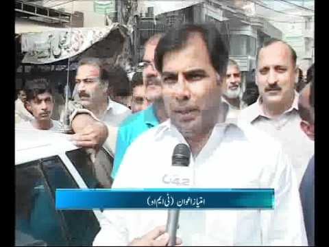 Samanabad Town Administration Demolished Illegal Encroachment Pkg By Imran Yonus