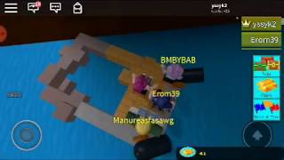 WE BUILT A BOAT IN ROBLOX!