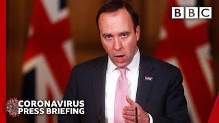 Pressure on NHS front line 'relentless' - Hancock 🔴 @BBC News live - BBC