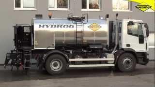 Skrapiarki emulsji Hydrog SH Premium z hydraulicznie rozsuwanym kolektorem skrapiającym