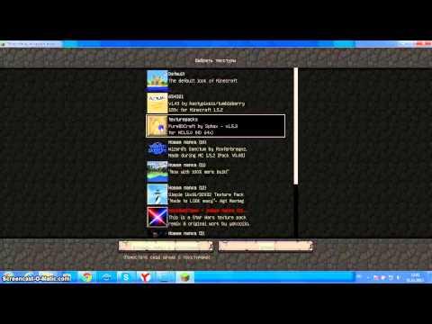 видео: как скачать текстур пак для minecraft 1.5.2