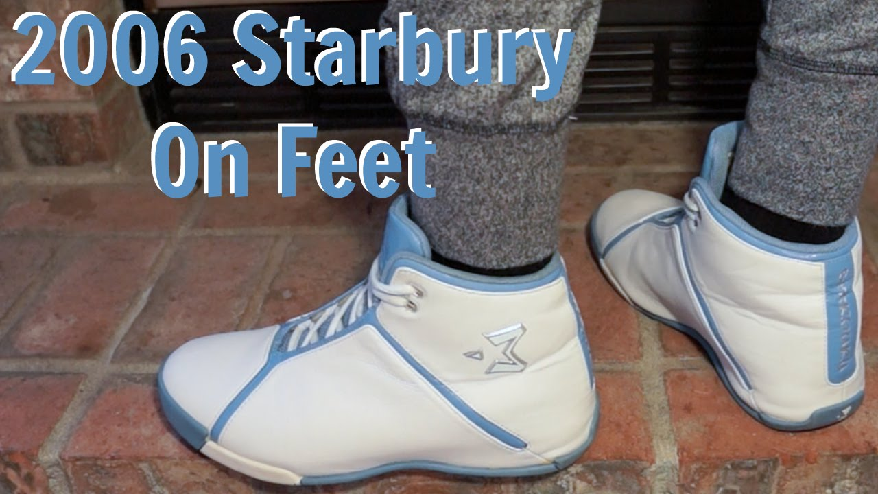 huge discount 3a3cb 916f9 2006 Starburys Stephon Marbury Shoes On Feet Detailed Look HD - YouTube