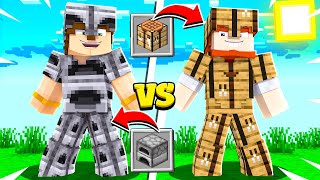 Minecraft CRAFTİNG SET vs FIRIN SET - ZIRHCRAFT #2