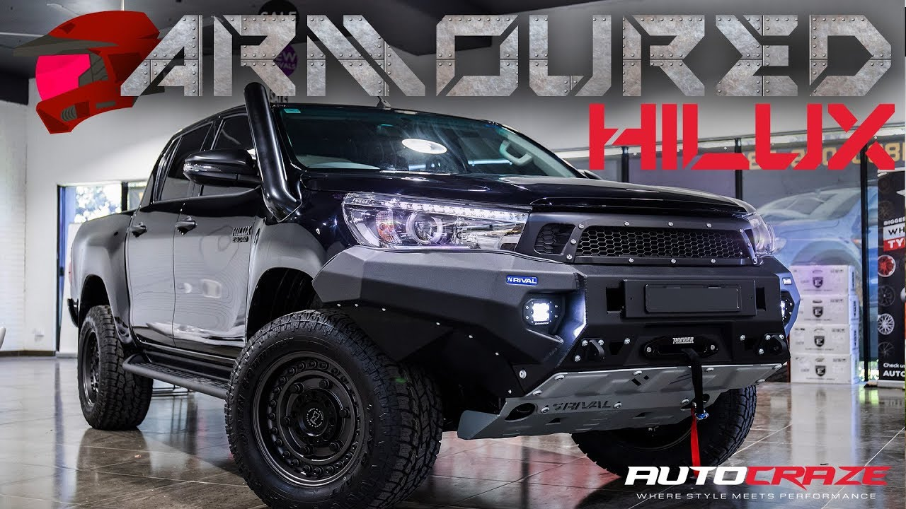 Armoured Hilux Crazy Modified 4x4 Build Youtube
