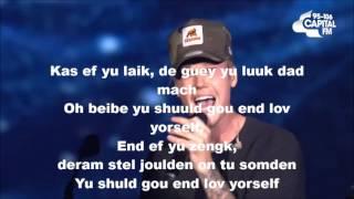 Justin Bieber - Love Yourself ( Pronunciación )
