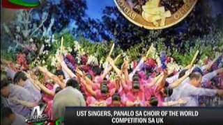Video UST singers win intl choir competition download MP3, 3GP, MP4, WEBM, AVI, FLV November 2017