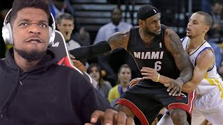 BOWDOWN!! LeBron James vs Stephen Curry NASTY Duel