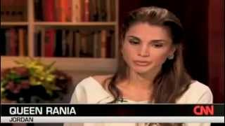 Queen Rania in  The Situation Room