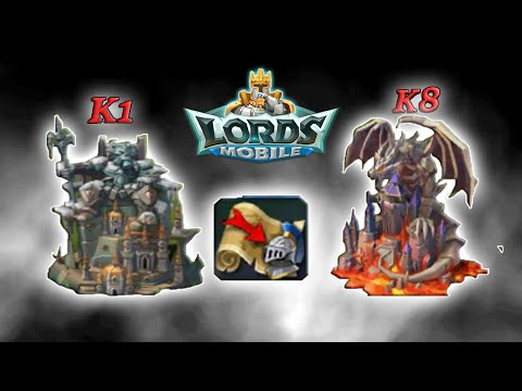 Lords Mobile KINGDOM MIGRATIONS IS FINALLY HERE!!!!