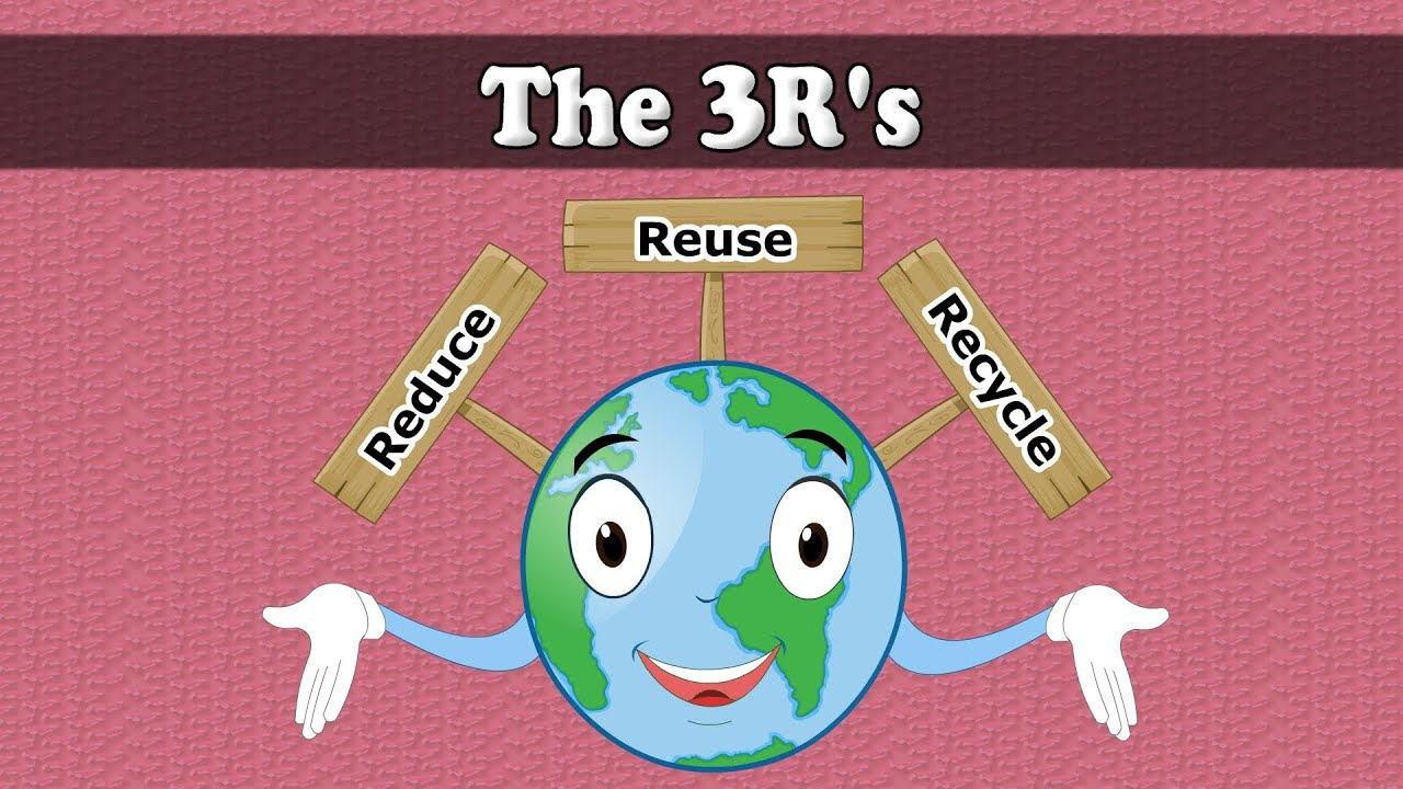 The 3 R's | #aumsum #kids #science - YouTube