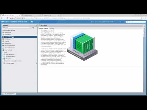 VMware NSX and SRM - Disaster Recovery Overview and Demo