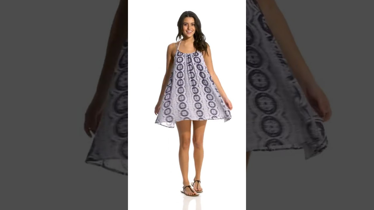 2a2afff282 Roxy Windy Fly Away Dreamin' Florida Cover Up Dress | SwimOutlet.com ...
