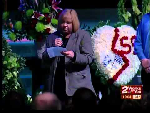 Hundreds remember Donnie Ray Crawford III