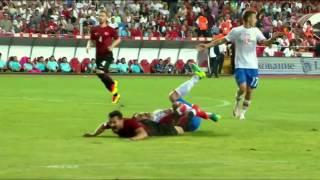 ФУТБОЛ Турция Россия Товарищеский матч 1 тайм