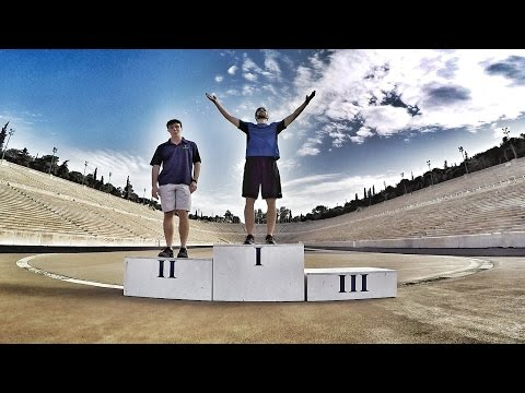 RACE DAY in the 1st Olympic Stadium [ATHENS,GR]