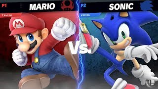 Mario VS Sonic | Super Smash Bros. Ultimate