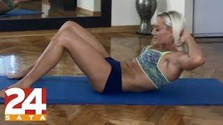 Dianina formula za čvrst trbuh: 'Radim i do tisuću trbušnjaka'
