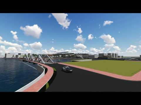 Multi-modal transport hub by Yeafi