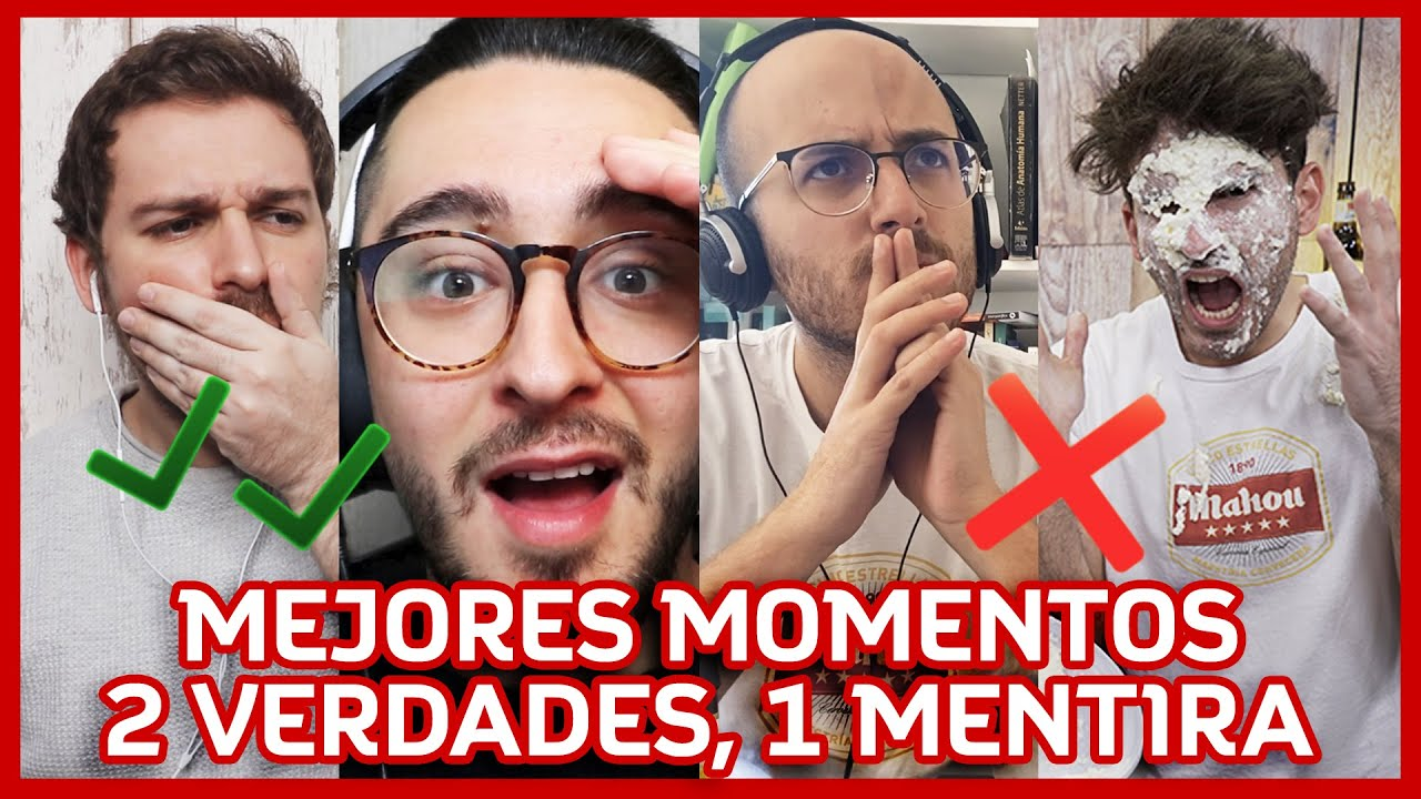 Los MEJORES MOMENTOS de 2 VERDADES y 1 MENTIRA - ANDRÉS CABRERA, GUILLE GLEZ, JUAN ARROITA, SPURSITO