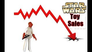 5 Reasons Star Wars Toy Sales Have Been Declining!