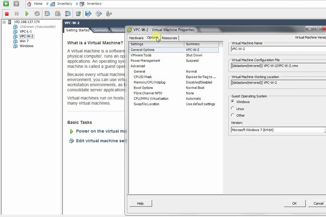 How to boot VM into UEFI in ESXi 5 vSphere