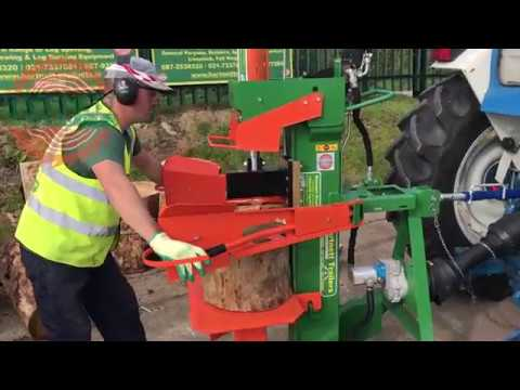 Working Demonstration - the 20 Ton PTO Log Splitter