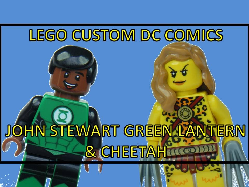 LEGO DC COMIC SUPERHEROES CUSTOM JOHN STEWART GREEN ...