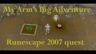 runescape 2007 quest guide my arm s big adventure