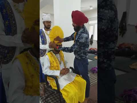 How to tie BHANGRA style TURBAN only BHANGRA by BALJINDER SINGH INTERNATIONAL