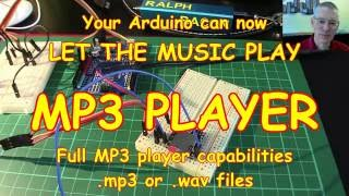 #40 Let the music play! Arduino based MP3 Player for music (or announcements)