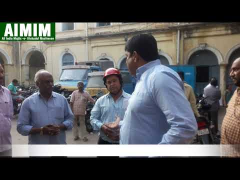 Syed Sohail Quadri AIMIM Corporator scolding Officers for making GHMC Recruitment tuff.