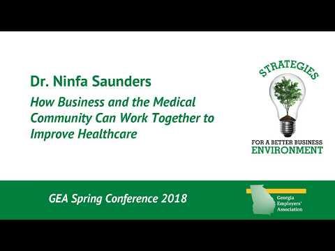 Dr. Ninfa Saunders - Keynote Address at GEA 2018 Spring Conference