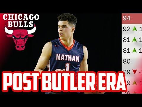 POST BUTLER ERA! 2018 CHICAGO BULLS REBUILD! NBA 2K17 My League