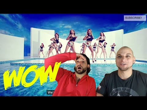 SISTAR - Touch My Body [REACTION]